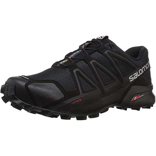 3. Salomon Men's Speedcross 4 Trail Running Shoe