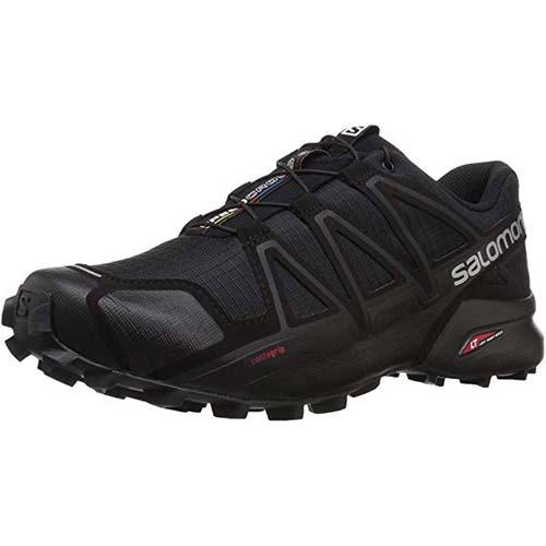 3. Salomon Men's Speedcross 4 Trail Running Shoe