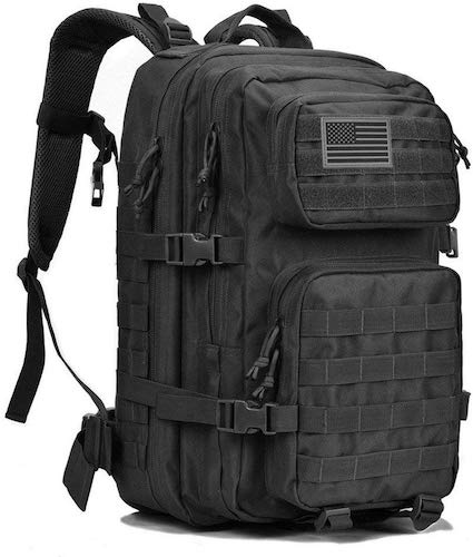 1. REEBOW GEAR Military Tactical Backpack Large Army 3 Day Assault Pack Molle Bag Backpacks