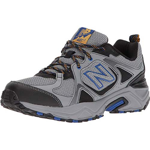 9. New Balance Mien's 481V3 Cushioning Trail Running Shoe