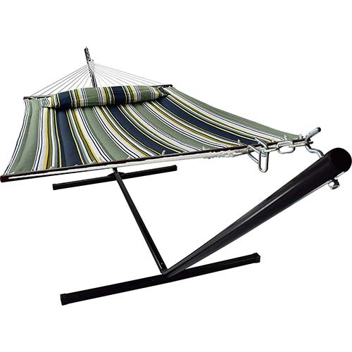 4. Sorbus Hammock with Spreader Bars and Detachable Pillow