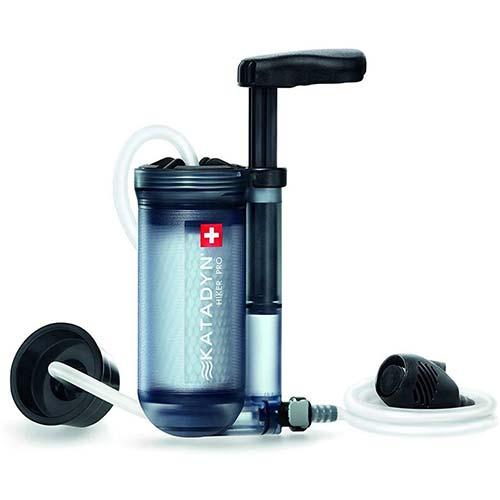 6. Katadyn Hiker Pro Transparent Water Filter