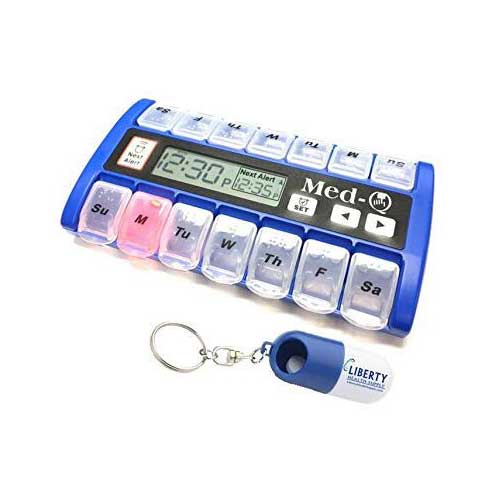 10. New MedQ Daily Pill Box Reminder