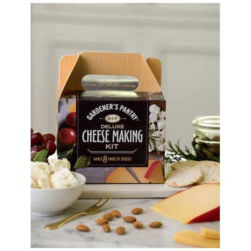 7. Deluxe Cheese Making Kit