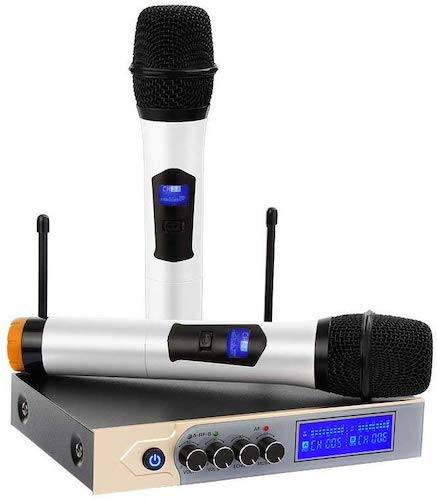 5. Archeer UHF Bluetooth Wireless Microphone System