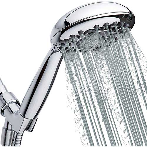 2. High Pressure Handheld Shower Head 6-Setting - Luxury 5
