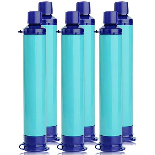 5. Membrane Solutions Straw Water Filter Survival Filtration Portable Gear