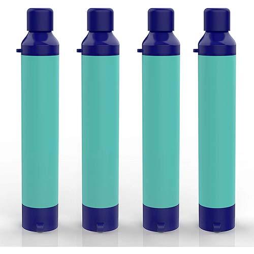 4. SimPure Water Filter Straw, Portable Survival Straw, Outdoor Purifier Survival Gear