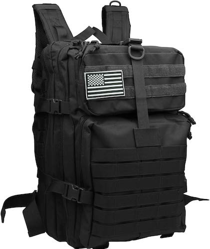 10. Tesinll Tactical Backpack 45 Liters Army Backpack Military Backpack Hunting Backpack Bug Out Bag