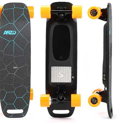 10. YWS The Wireless Remote Control Electric Skateboard