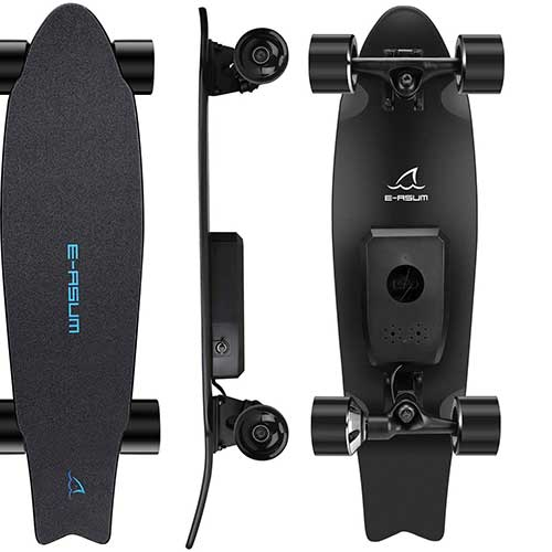 5. E-ASUM AS01 Electric Skateboard, 350W Hub-Motor Skateboards