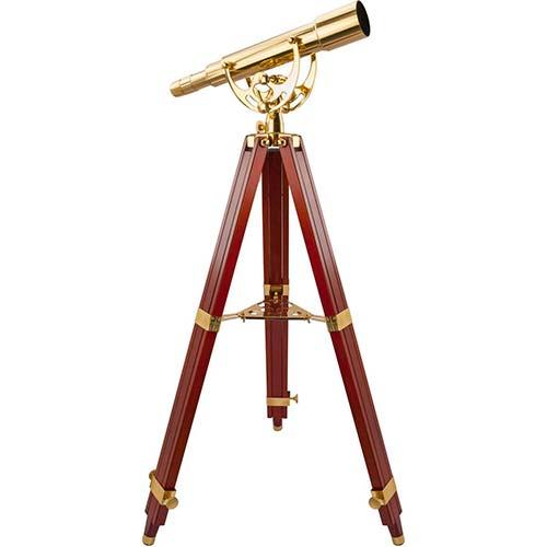 6. BARSKA Anchormaster 15-45x50 Spyscope w/ Mahogany Floor Tripod