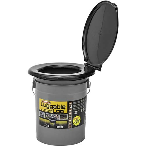 7. Reliance Products Luggable Loo Portable 5 Gallon Toilet