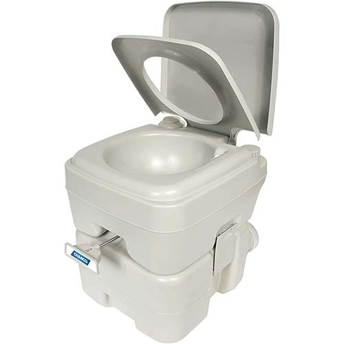 6. Camco Portable Travel Toilet