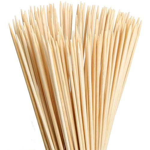 3. FLYPARTY Bamboo Marshmallow Roasting Sticks