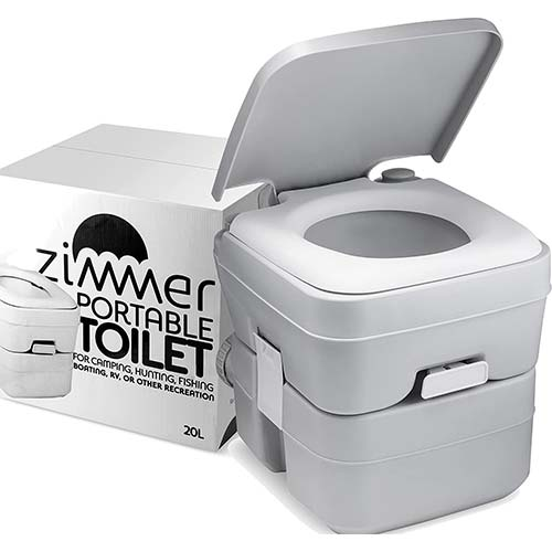 3. Portable Toilet Camping Porta Potty