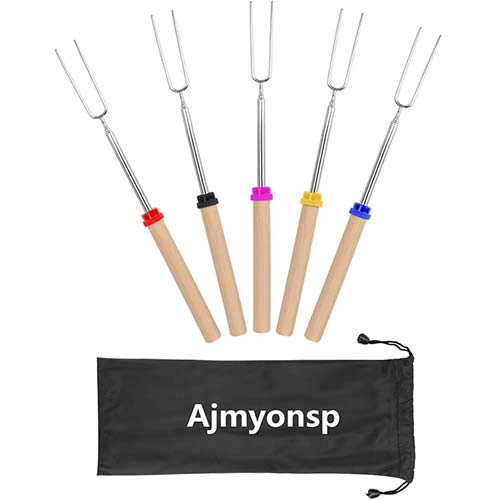 1. Ajmyonsp Marshmallow Roasting Sticks