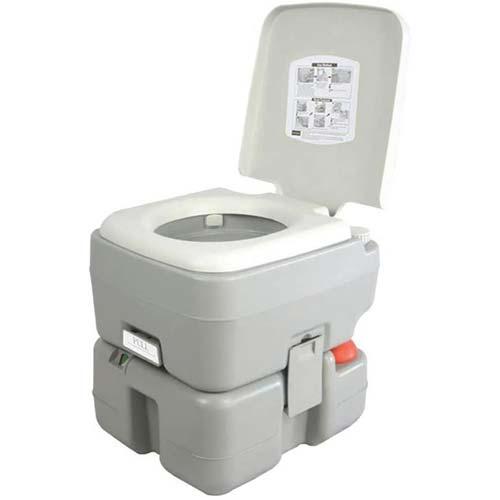 2. SereneLife Outdoor Portable Toilet