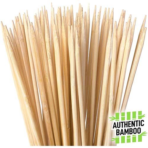 7. Authentic Bamboo Marshmallow Roasting Sticks