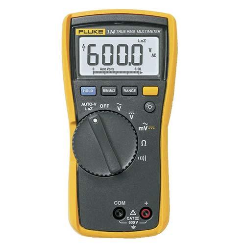 9. Fluke 114 Electrician's Multimeter