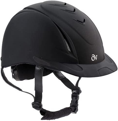 2. Ovation Girls' Schooler Deluxe Riding Helmet - 467566Pur