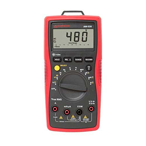 10. Amprobe AM-530 TRMS Electrical Contractor Multimeter