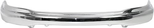 7. Front Bumper Compatible with 1999-2003 Ford F-150 Chrome with Pad Holes