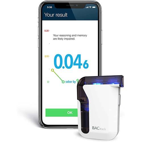 1. BACtrack Mobile Smartphone Breathalyzer