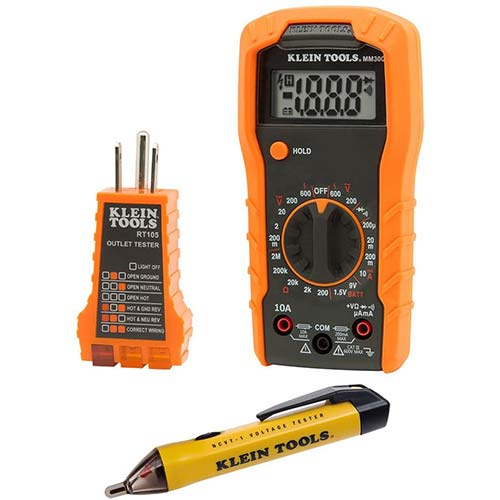 5. Klein Tools 69149 Multimeter Test Kit