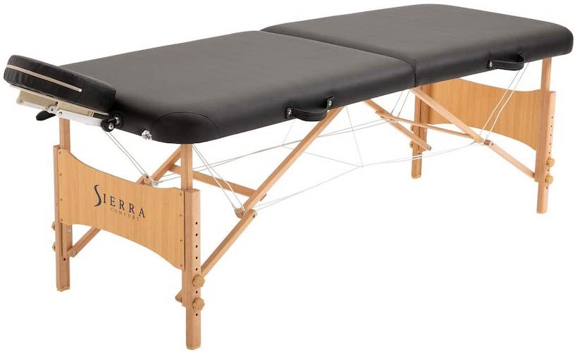 10. SierraComfort Preferred Portable Massage Table