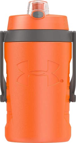 2. Under Armour Sideline 64 Ounce Water Jug, Blaze Orange