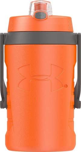 2. Under Armour Sideline 64 Ounce Water Jug, Blaze Orange