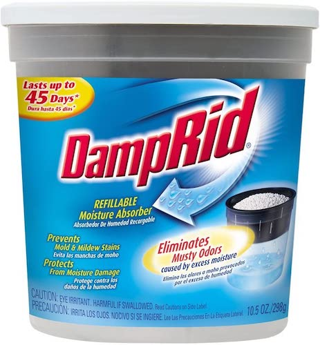 10. DampRid Refillable Moisture Absorber