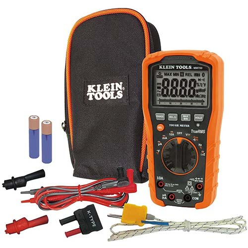 1. Klein Tools MM700 Multimeter