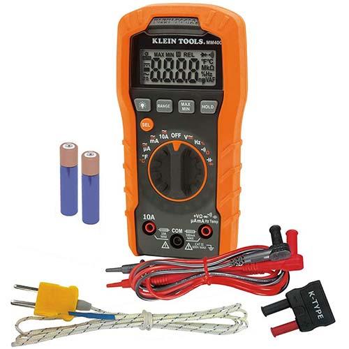3. Klein Tools MM400 Multimeter
