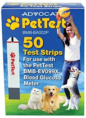 5. PetTest Advocate Monitoring Glucose Levels - Diabetes Testing Tools - Calibrated for Pets - Bonus eOutletDeals Pet Towel