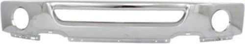 3. Front Bumper Compatible with 2006-2008 Ford F-150 Face Bar Chrome From 8-9-2005