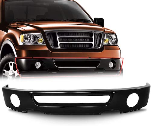 1. Make Auto Parts Manufacturing Front Lower Bumper Face Bar Painted With Fog Light Holes