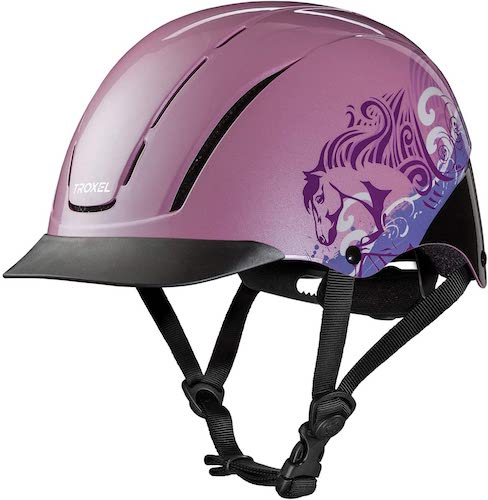 3. Troxel Spirit Horseback Riding Helmet