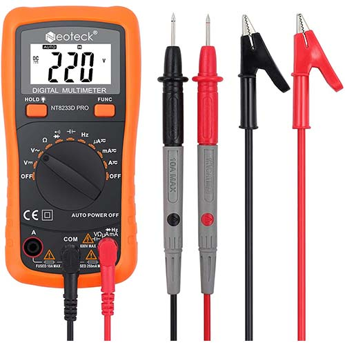 6. Neoteck Auto Ranging Digital Multimeter