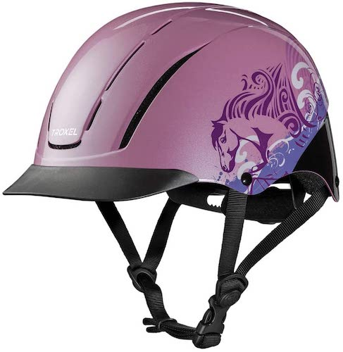 9. TROXEL Children's Spirit Safety Horse Riding Helmet Low Profile Western Adjustable All Styles