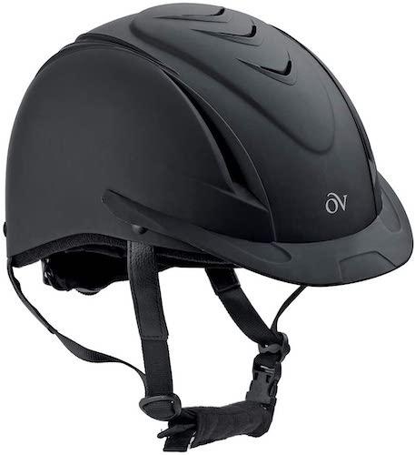 7. English Riding Supply Inc English Riding Supply Ovation Deluxe Schooler Helmet Black/Black M/L