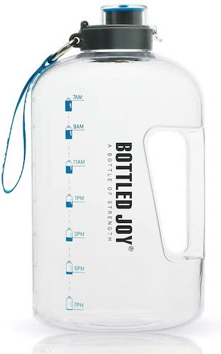 5. BOTTLED JOY 1 Gallon Water Bottle