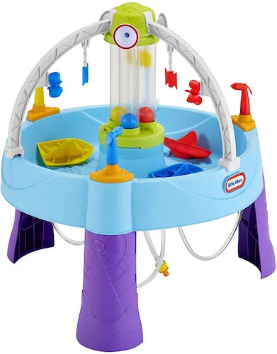 3. Little Tikes Fun Zone Battle Splash Water Table and Game for Kids