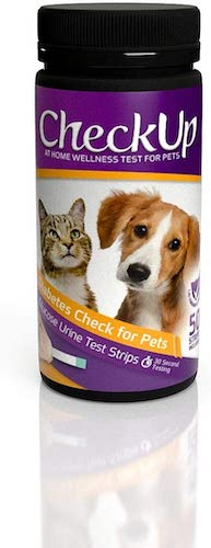 10. KIT4CAT CheckUp Glucose Urine Testing Strips for Cats and Dogs - Detection of Diabetes x 50