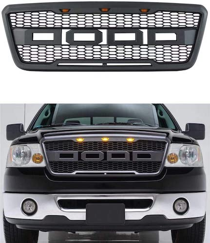 5. VZ4X4 Front Grill for Ford F150 2004 2005 2006 2007 2008 Raptor Style Grill