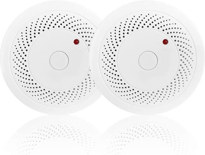 10. Combination Photoelectric Smoke Detector and Carbon Monoxide Detector Alarm