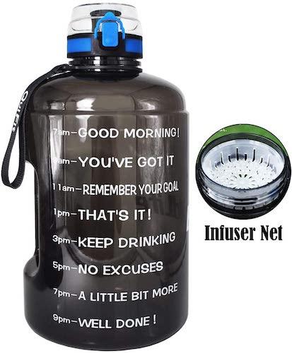 10. BuildLife Gallon Motivational Water Bottle