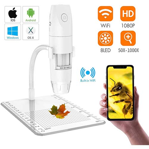 9. Wireless Digital Microscope