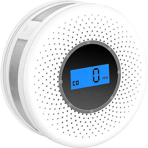 7. Combination Smoke and Carbon Monoxide Detector
